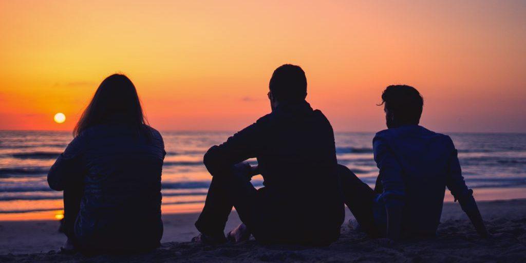 family beach image
